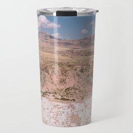 Salinera De Mara, Peru by Caroline Zhao Travel Mug