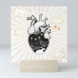 Desert Heart Inktober :: More Magick Mini Art Print
