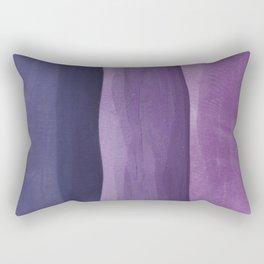 Purple Gradient on Wood Rectangular Pillow