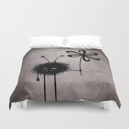 Evil Flower Bug Duvet Cover