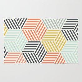 Colorful Geometric Rug