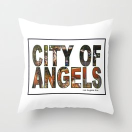 Los Angeles Zoo Throw Pillow