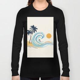 Minimalistic Summer II Long Sleeve T-shirt