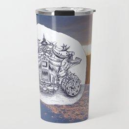 Travel with Mr Snowman Travel Mug
