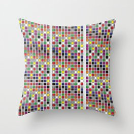 Untitled Five Throw Pillow
