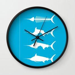 Oldman And The Sea Wall Clock