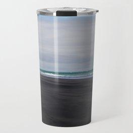 black beaches of raglan Travel Mug