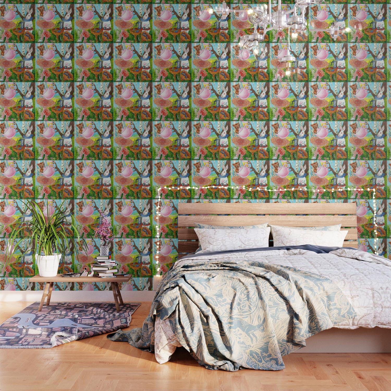 Alice In Wonderland Wallpaper By Kejla Society6