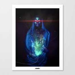 Divine Striptease Canvas Print