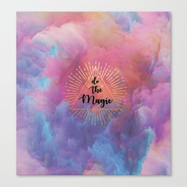 Do the Magic (colorful) Canvas Print