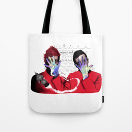 Outer space pilots Tote Bag