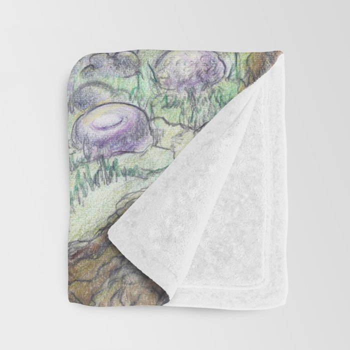RHX Forest Logo Throw Blanket