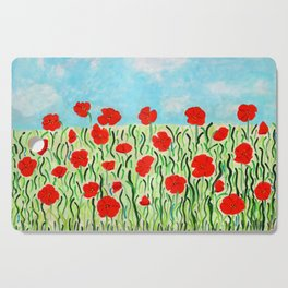 Everything's Popping Up Poppies! Cutting Board