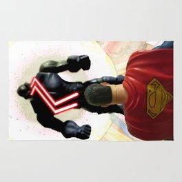 SUPERMAN VS DARKSEID Rug