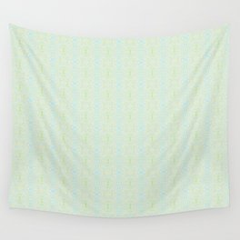 Blue Yellow and Green Pattern 2 Wall Tapestry