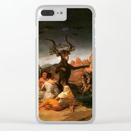 The Sabbath of witches - Goya Clear iPhone Case