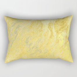 Gold Foil Rectangular Pillow