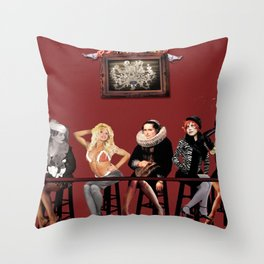 A Fever You Can't Sweat Out Throw Pillow