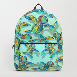 Baby Sea Turtle Fabric Toy Backpack