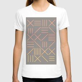 Geometric Shapes 12 Gradient T-shirt