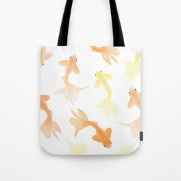 Goldfish pattern Tote Bag