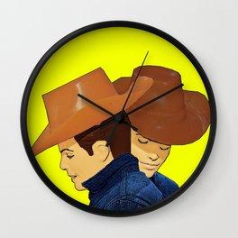 Cowboy Love! Wall Clock