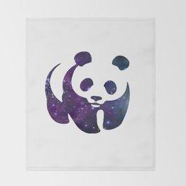 SPACE PANDA Throw Blanket