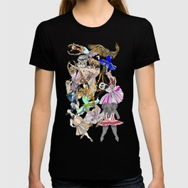 Animal Ballet Hipsters - Green T-shirt