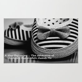 Photography A New Beginning Rug