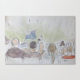 MCG Spectators Canvas Print