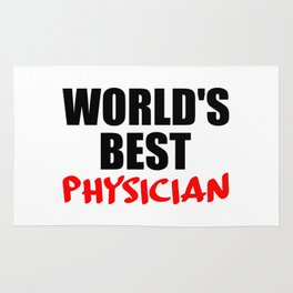 worlds best doctor Rug