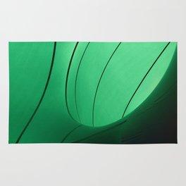 Green pattern Rug