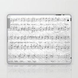 Wesleyan Fight Song Laptop & iPad Skin