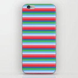 Child's Play Chucky Inspired Stripes iPhone Skin