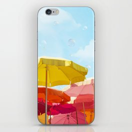 Sunny day in Cinque Terre iPhone Skin