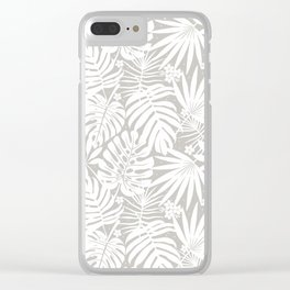 Lindenman Tropics Clear iPhone Case