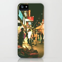 Indian street iPhone Case