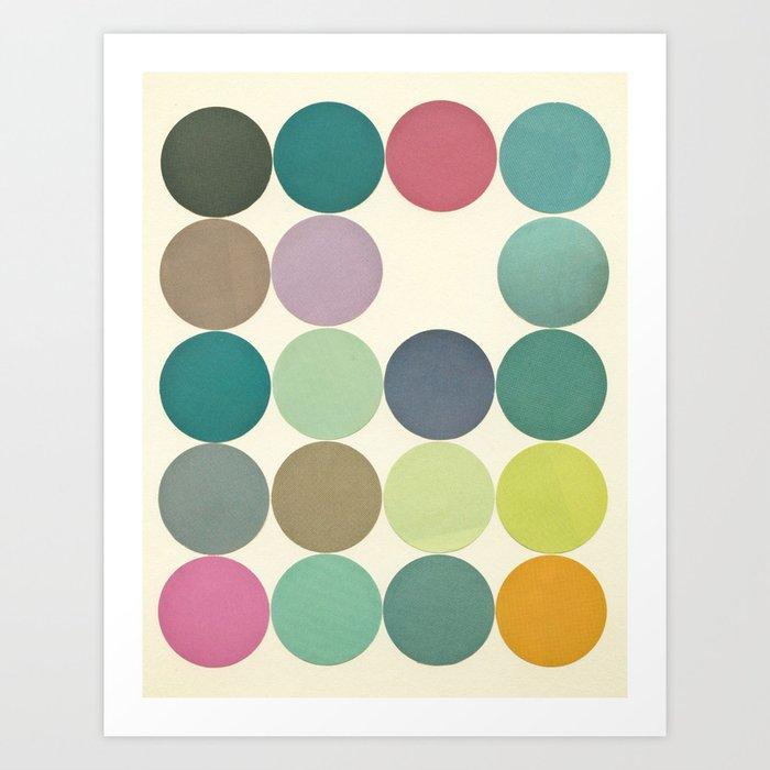 Circles I Art Print