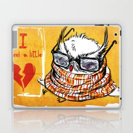 Hipster heartbrake Laptop & iPad Skin
