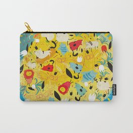 Lot of animals on the sun Carry-All Pouch