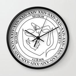 SSS Official Logo Wall Clock