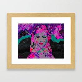 MadonnaSinger Framed Art Print