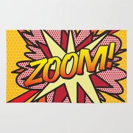 Comic Book ZOOM! Rug