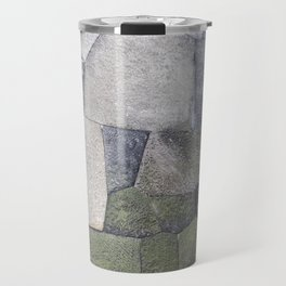 An imperial wall Travel Mug