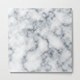 Marble Cloud Metal Print