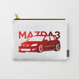 Mazda 3 - classic red - Carry-All Pouch