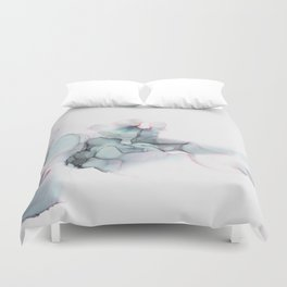 Abstract Alcohol Ink 6248 Duvet Cover
