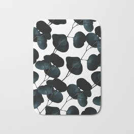 Dark Leaves #society6 #artforsale Bath Mat