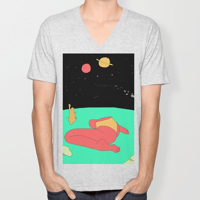 Space Bum Unisex V-Neck