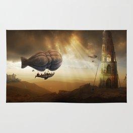 Endless Journey - steampunk artwork Rug